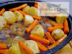 cover and bake until the potatoes and carrots are done