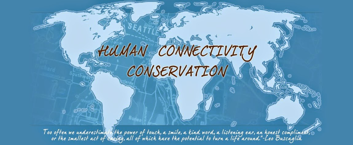 HUMAN CONNECTIVITY CONSERVATIONIST