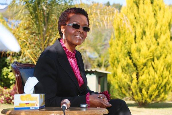 First Lady Amai Grace Mugabe
