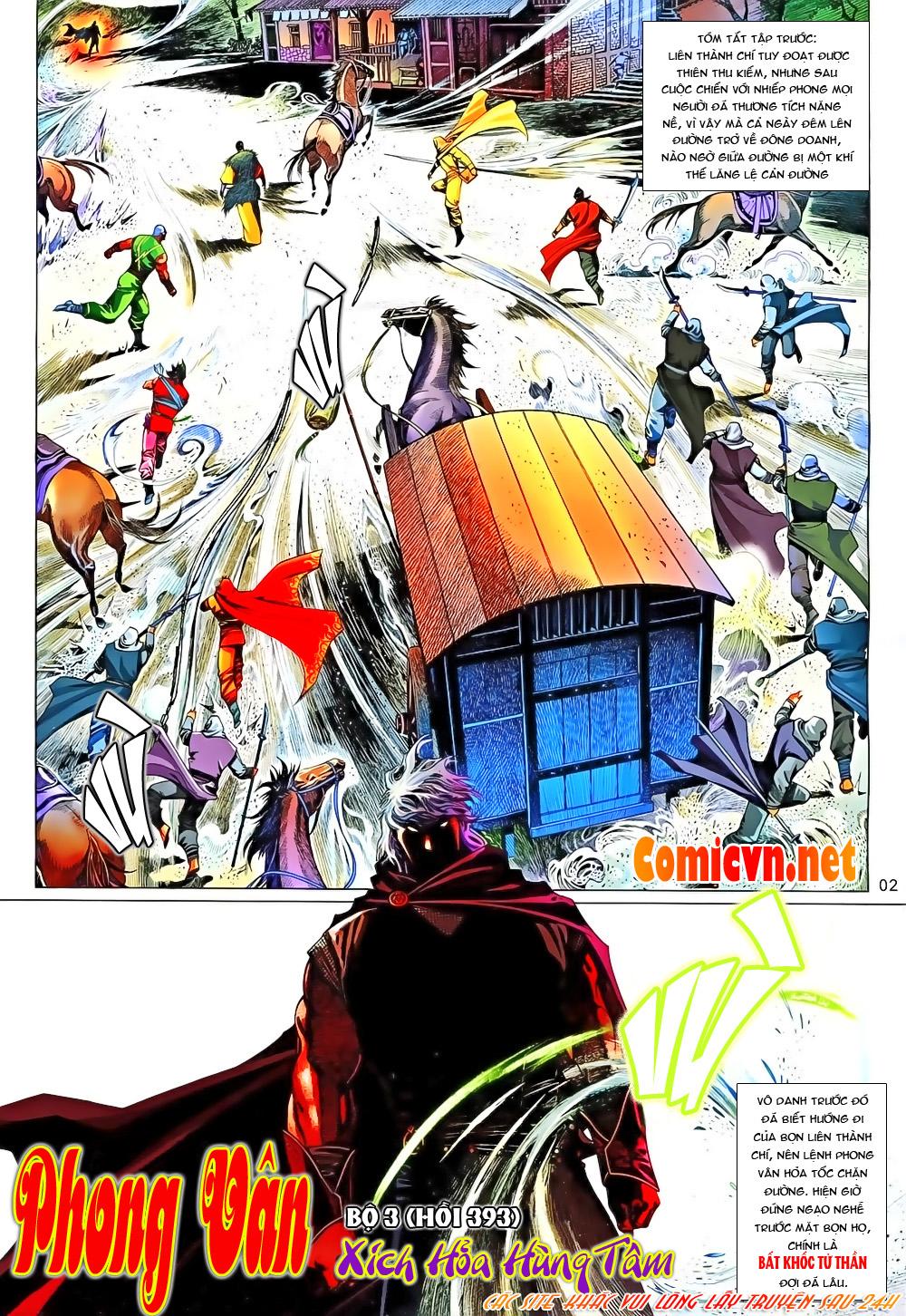 Phong Vân chap 651 Trang 2 - Mangak.info