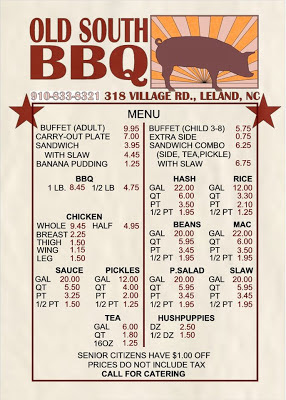 Southeastern North Carolina has not had a BBQ house this good since the original Skinner and Daniels closed.