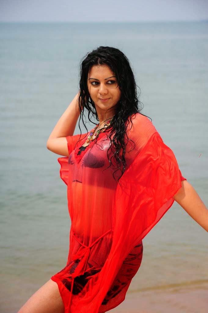Actress Kamna Jethmalani latest Gallery From beach