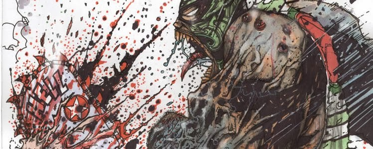 Art Stefano Cardoselli Blood and Gore