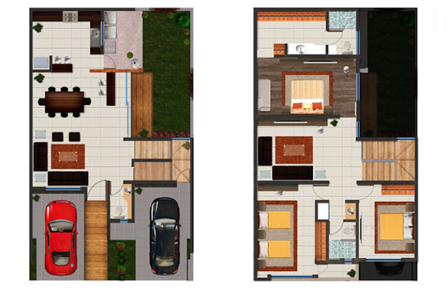 Planos de casas y plantas arquitect nicas de casas y for Simbologia arquitectonica para casas