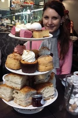 Afternoon tea - Bea's of Bloomsbury