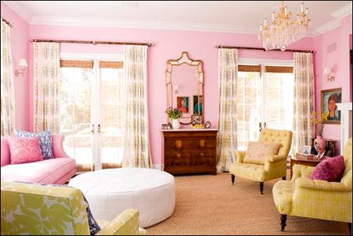 Romantic Style Living Room Design Ideas - Simple Home Architecture ...