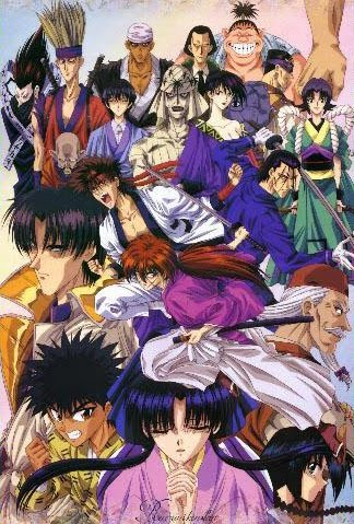 Samurai X Rurouni Kenshin in the Philippines 90s animated series in Studio 23 and ABS-CBN