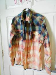 bleach, diy, flannel