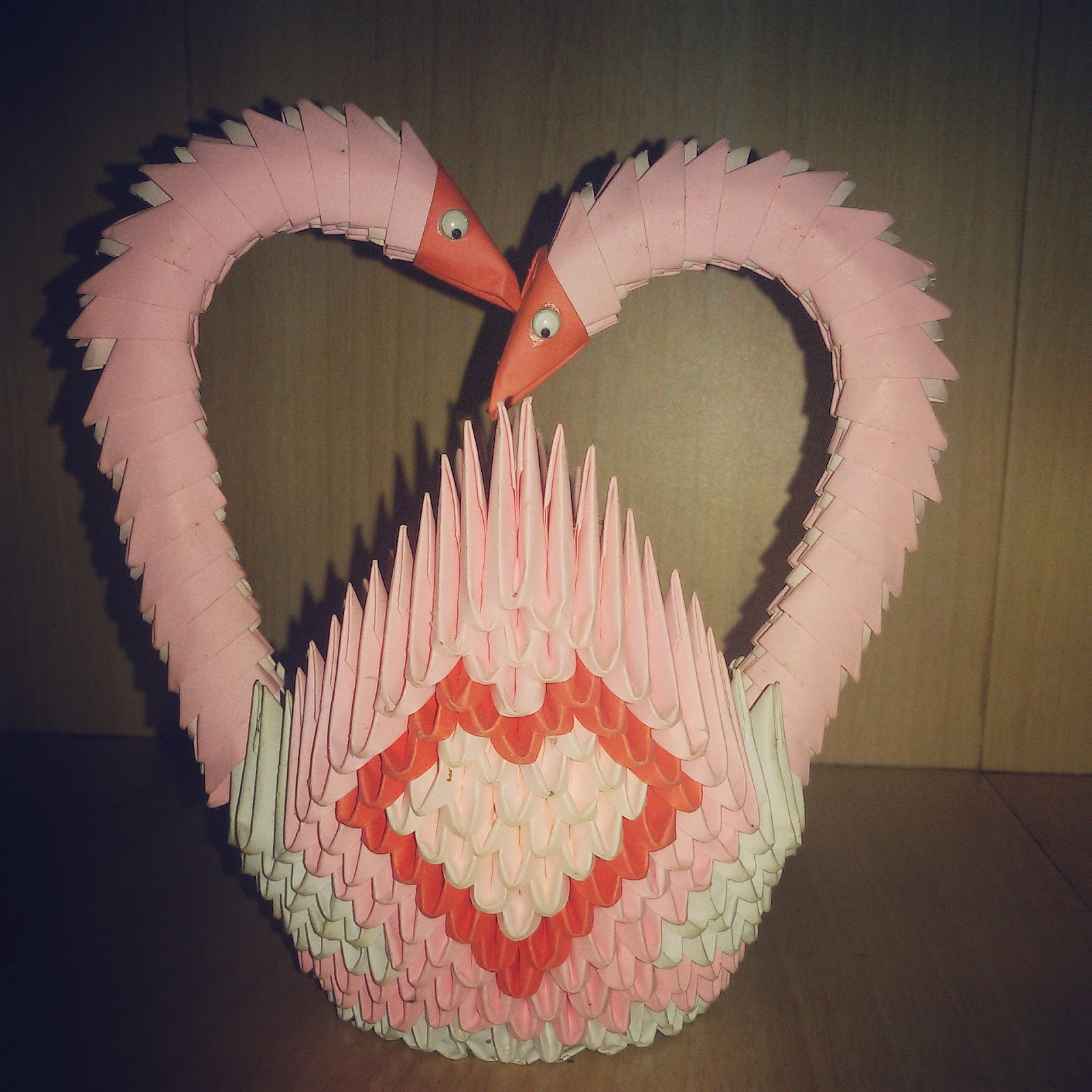 Pink Swan Heart Basket Love Swans Represents Lovely Couple And You Can Gift This For A Wedding