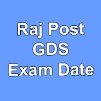 Raj Post Official Exam Date 2015