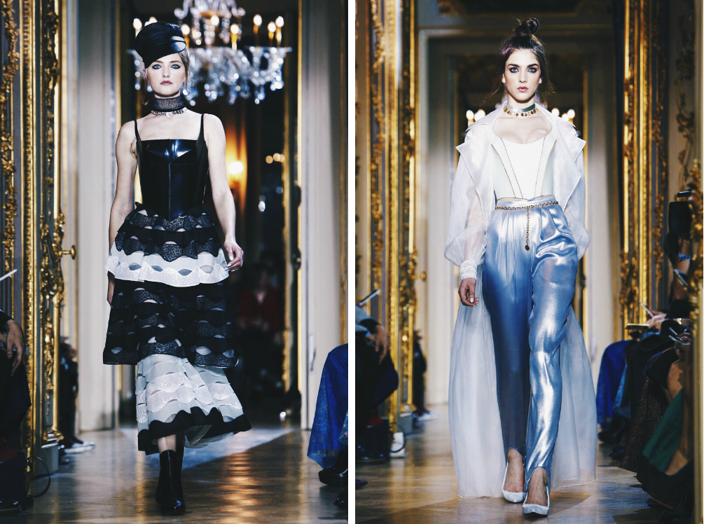 Ana Maddock- Ulyana Sergeenko Paris Haute Couture Fashion Week SS16