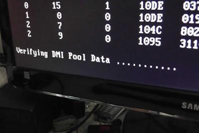 Cara Mengatasi Komputer Gagal Booting Verifying DMI Pool Data