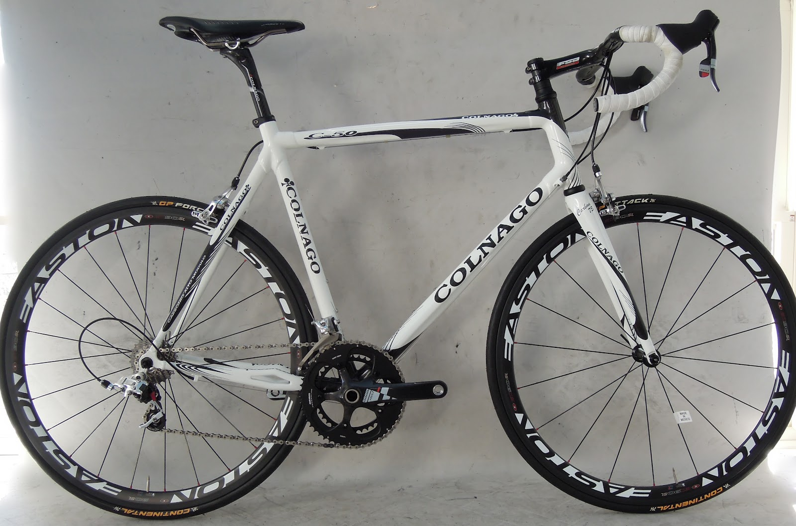 Continental Bicycle Tires >> Frame and Wheel Selling Services: 2008 Colnago C50 58s SRAM Red Easton EC90SL carbon clincher ...