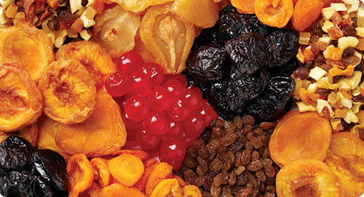 most healthy dried fruit least healthy fruit