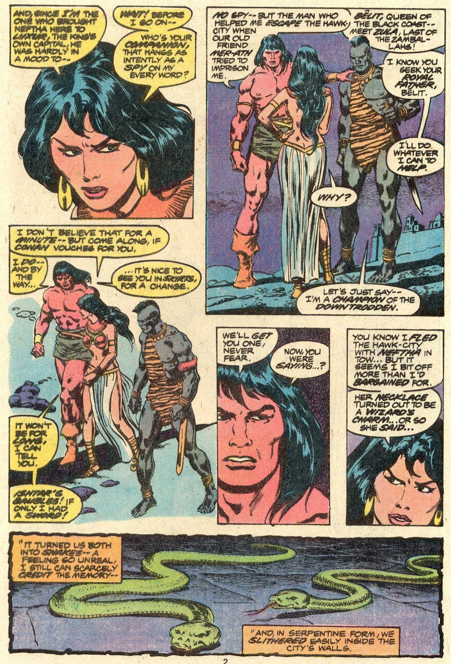 Conan the Barbarian (1970) Issue #88 #100 - English 3