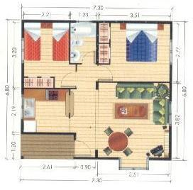 Planos de casas modelos y dise os de casas planos de for Planos de casas con medidas