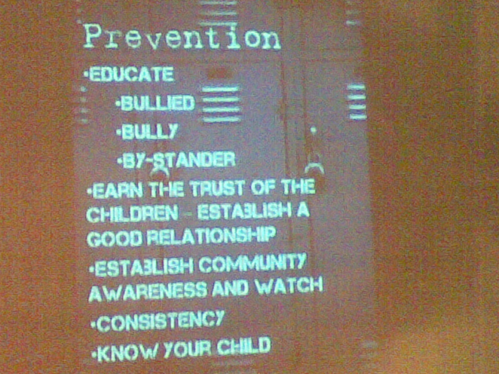 the programs of anti bullying All schools implement an anti-bullying plan that outlines strategies for preventing and responding to student bullying.