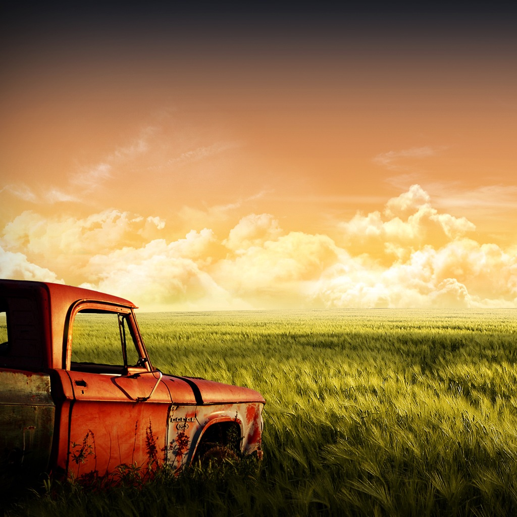 http://2.bp.blogspot.com/-pIaUII_9788/Tci1sJ-76DI/AAAAAAAACFM/ZgIn5wjqGdc/s1600/Grass-Field-and-Old-Truck-iPad-Wallpaper-Download.png