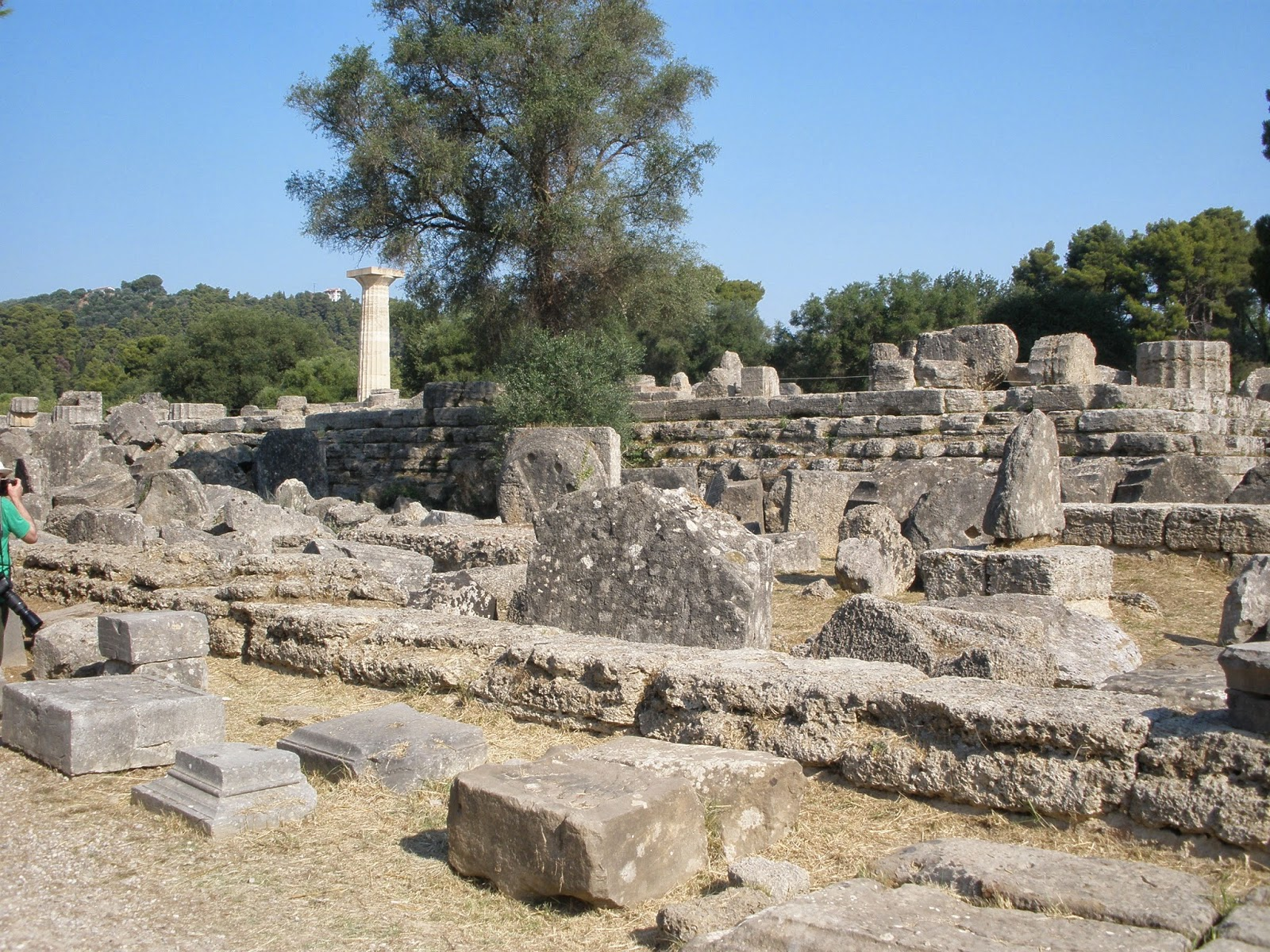 Bouleuterion, edificio donde los atletas ofrecían sacrificio y prestaban juramento estipulado.