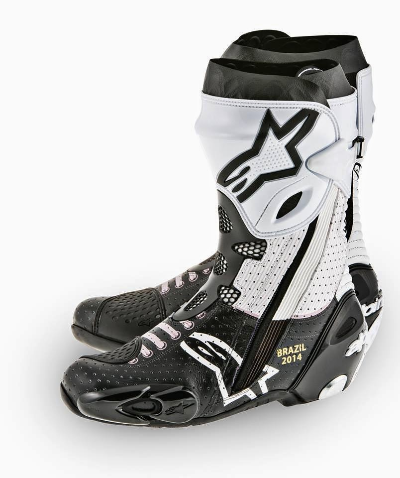 racing caf 232 alpinestars supertech r boots motogp riders