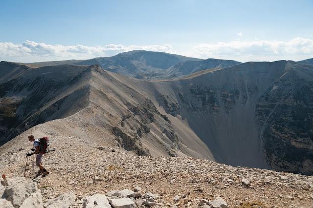 Il Primo e il Secondo Portone della Majella, il Monte Amaro