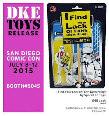 "San Diego Comic-Con 2015 Exclusive ""I Find Your Lack of Faith Disturbing!"" Stormtrooper Bootleg Star Wars Resin Figure by Special Ed Toys"