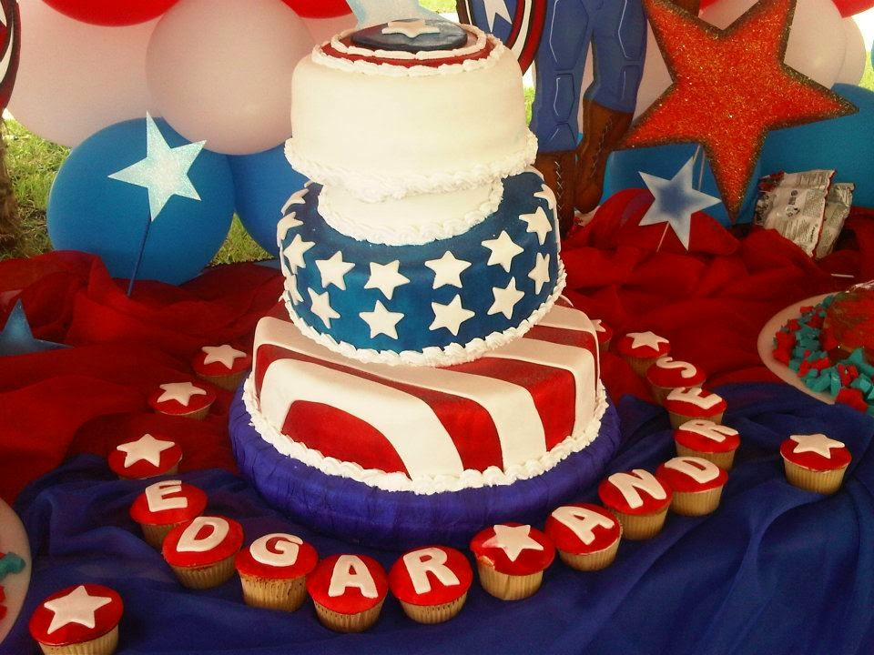Tortas Capitan America, parte 2