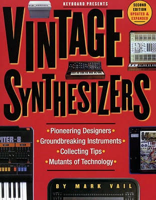 El libro Vintage Synthesizers de Mark Vail