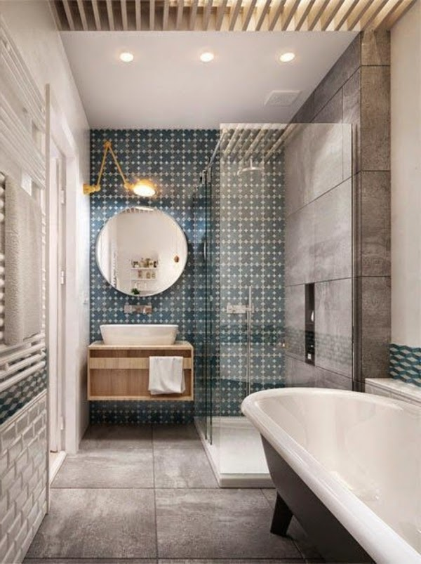 Ba os peque os y elegantes colores en casa for Banos elegantes y modernos