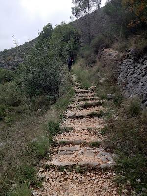 Escales dels Moros. Barranc de l'Infern Ebo Fleix