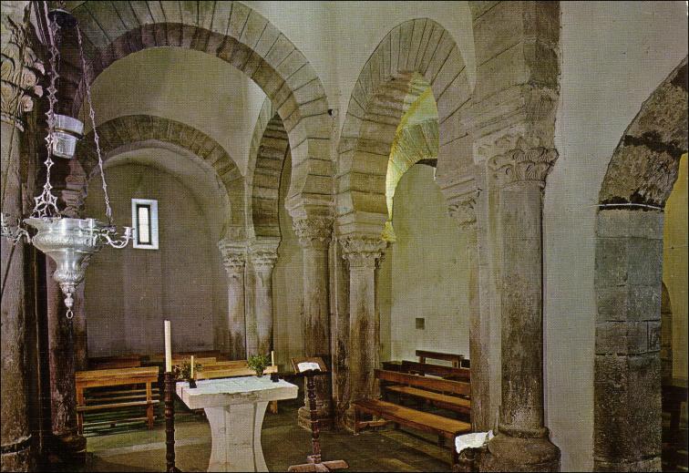 Sta María de Lebeña