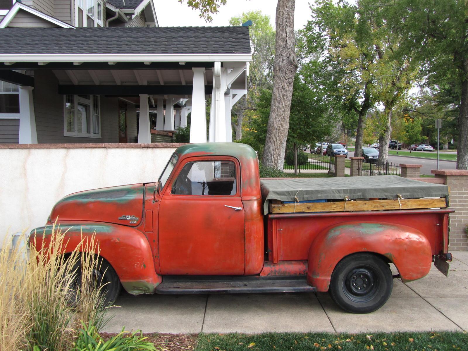 autoliterate: 1950 GMC, Colorado Springs