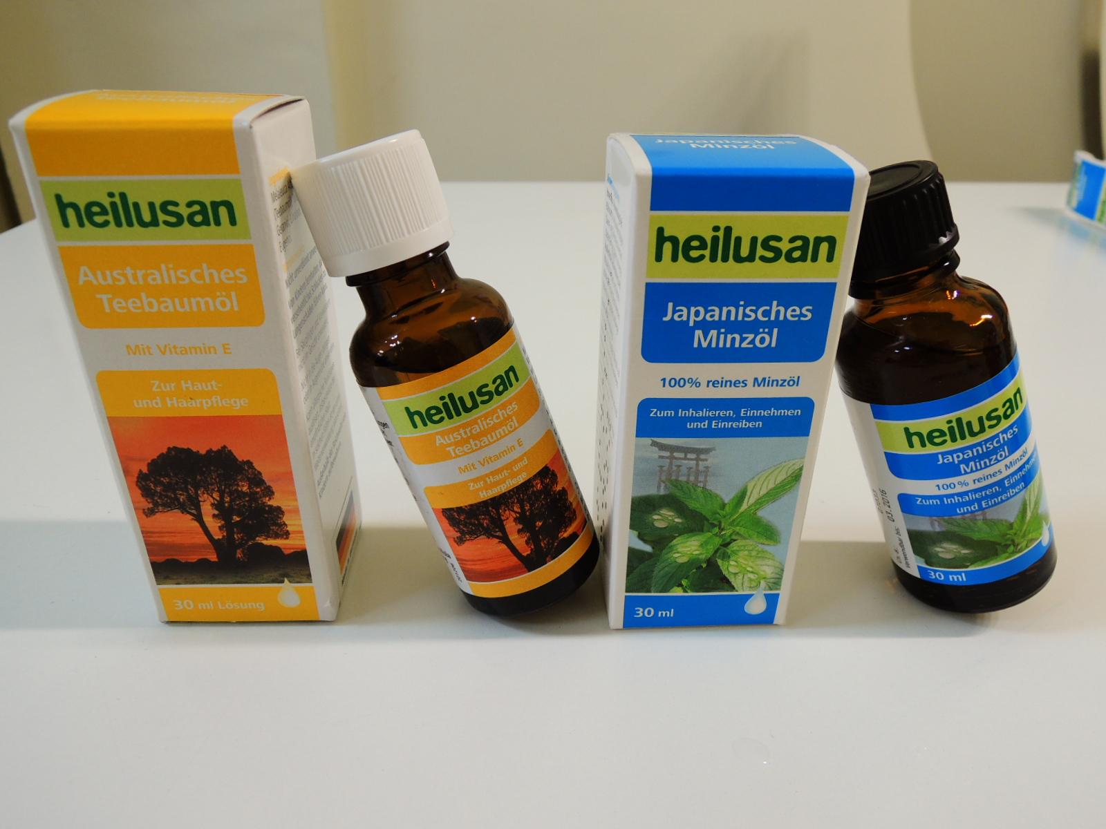 好立善德國萬用油〈100%胡椒薄荷精油〉&澳洲茶樹精油