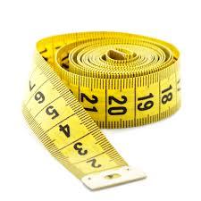 cinta métrica confección y patronaje