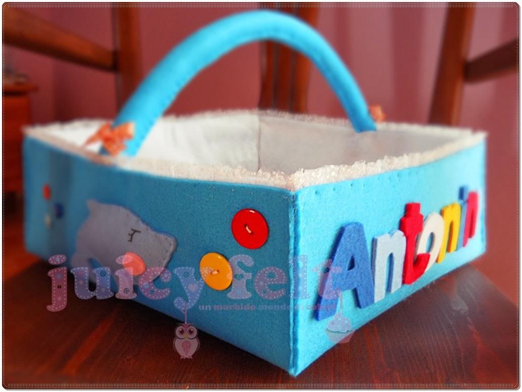 Ben noto Dopo il fiocco nascita, ecco il cestino portaconfetti di Antonino FL92