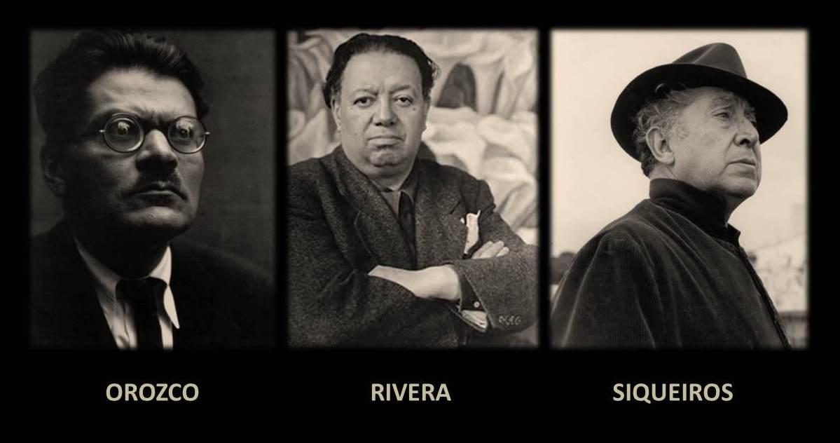 MURALISMO MEXICANO Los+Tres+Grandes