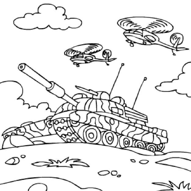 kids camo coloring pages - photo#16