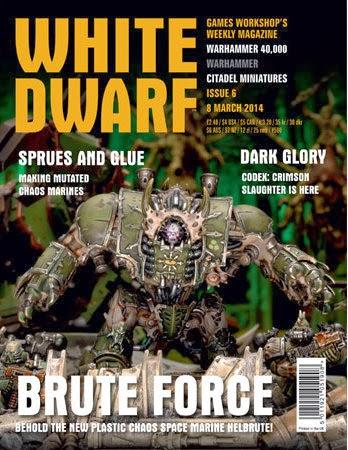 White Dwarf Weekly número 6 de marzo