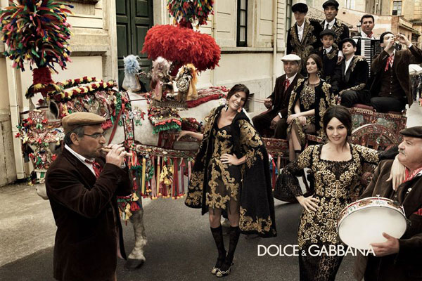 Dolce & Gabbana Fall/Winter 2012-2013 Campaign
