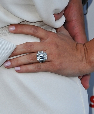 Kim Kardashian, Her Engagement Ring and Family Reaction