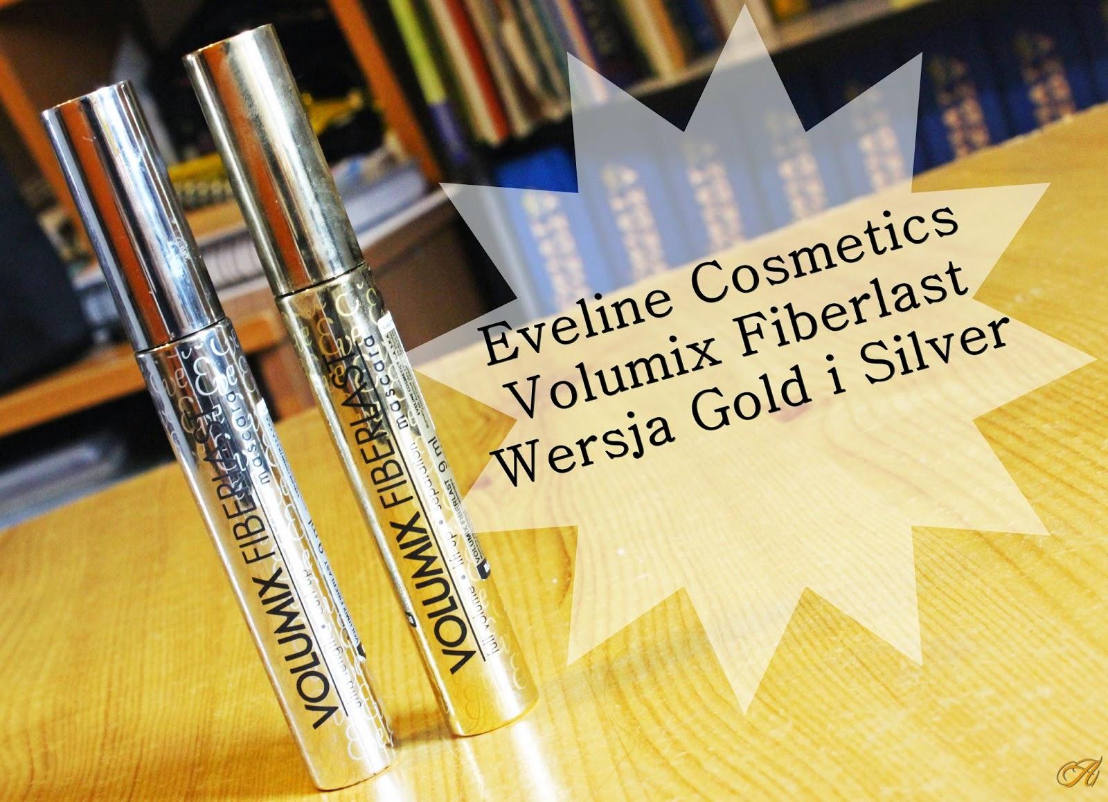 Eveline Cosmetics, Volumix Fiberlast Mascara - wersja złota i srebrna