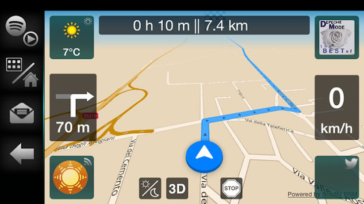 AppRadioWorld Apple CarPlay Android Auto Car Technology News – Turn by Turn Maps