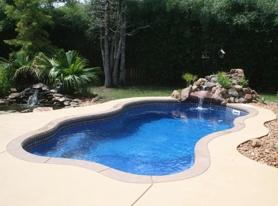 Fiberglass Pool Repair 360 Blue Hawaiian Fiberglass Pool Designs