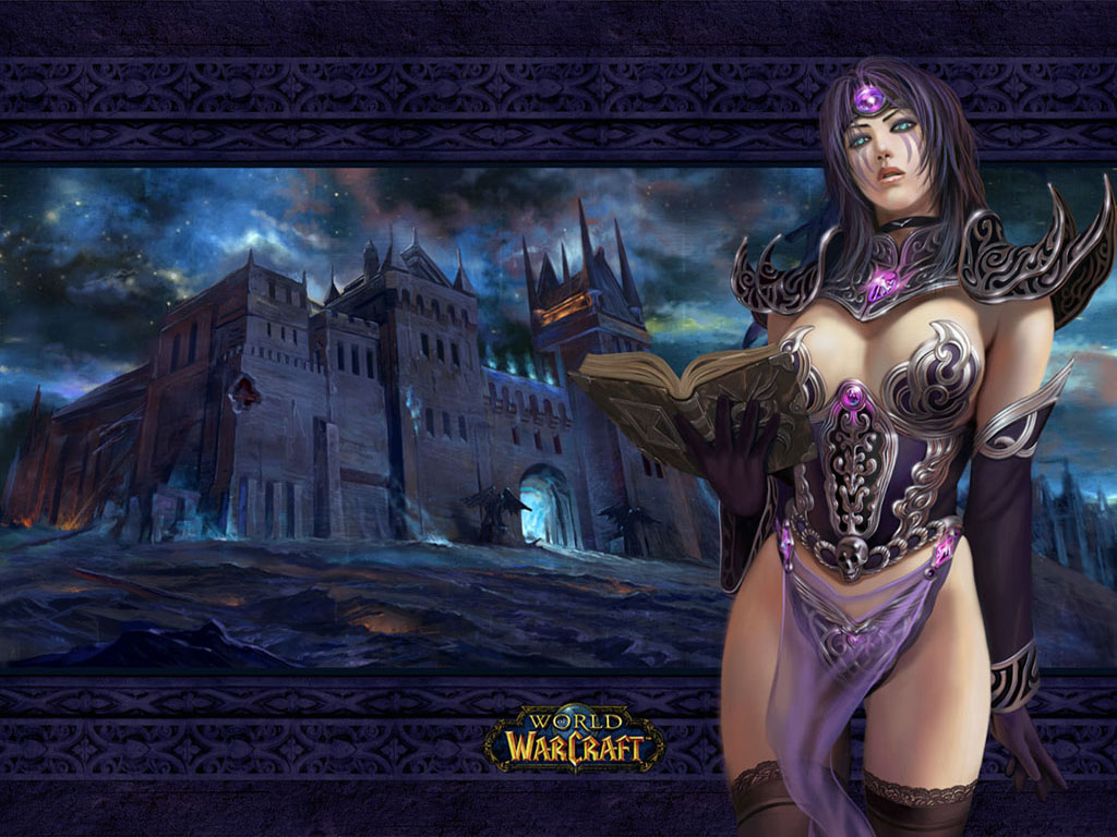 World of warcraft wow wallpaper background desktop female woman girl