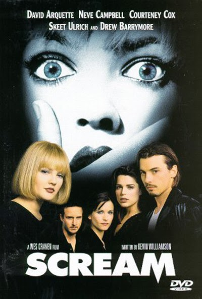 Wes Craven Movie Poster 1996 Scream Horror