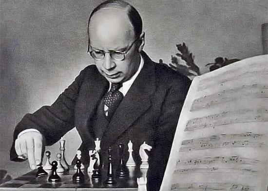 Sergey Prokofiev était plus qu'un aficionado, c'était un fanatique du jeu d'échecs