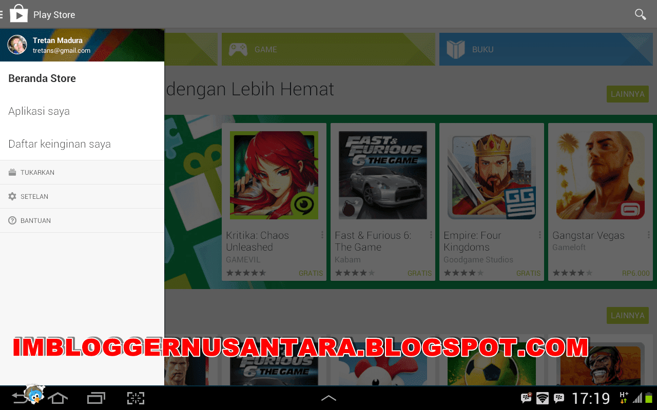 Download Aplikasi Google PlayStore Android V. 4.6.17 APK Terbaru