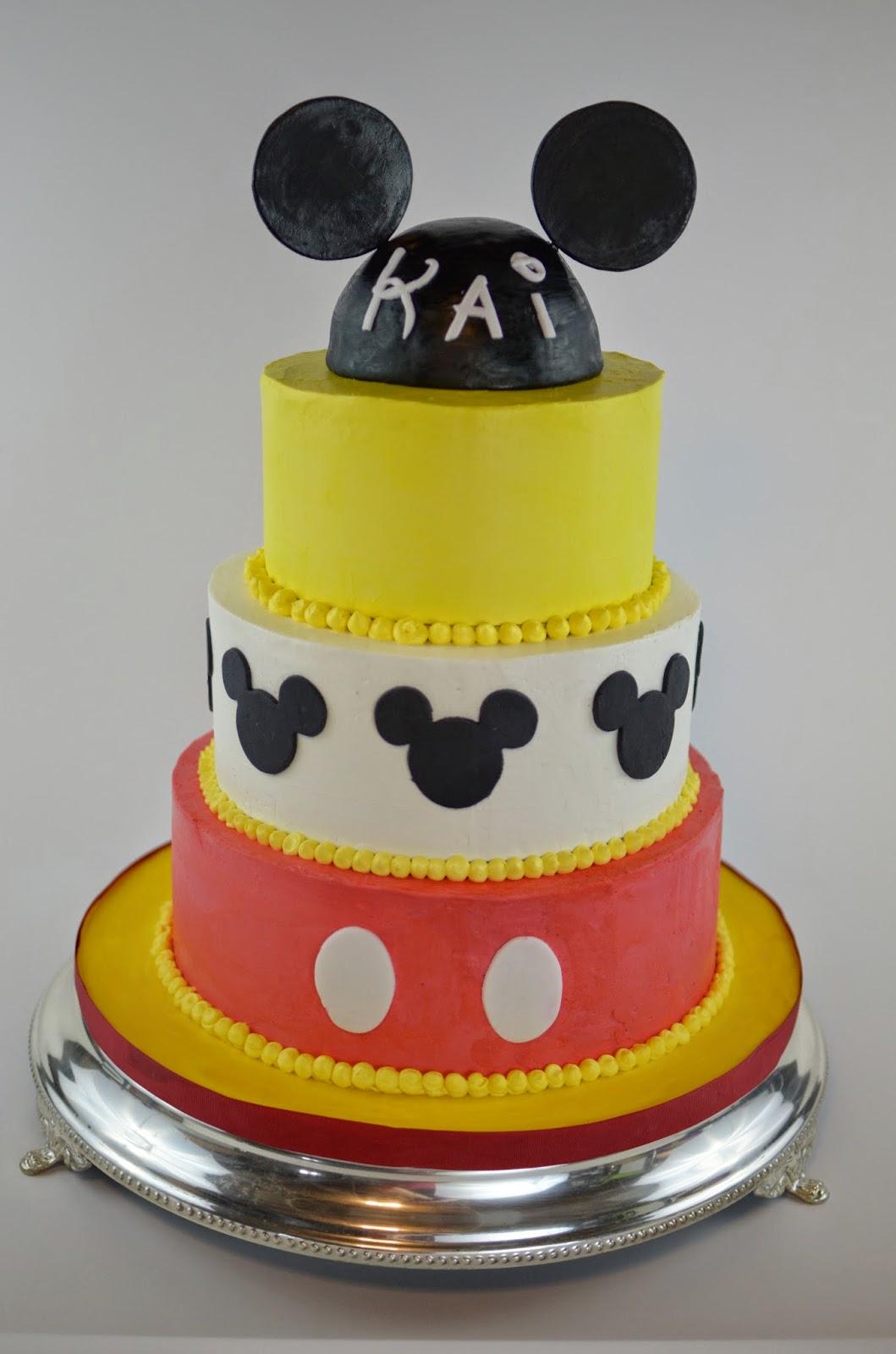 Cakes By Hotkist Mickey Mouse Theme Birthday Cake