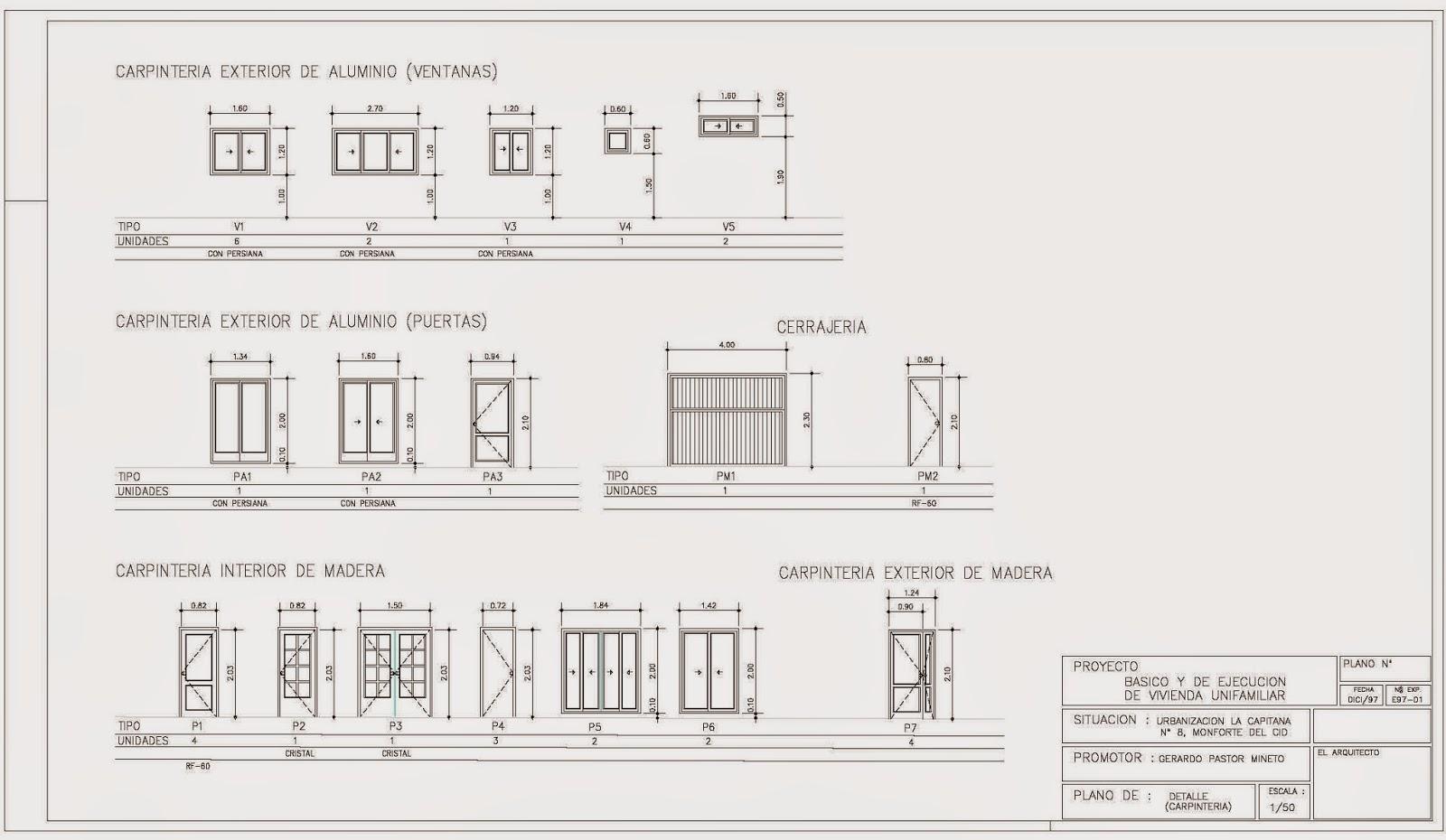 Rc i e s gran v a alicante pr ctica 10 19 20 21 planos for Planos de carpinteria de madera