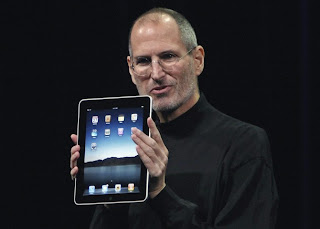 steve jobs, apple, iPad
